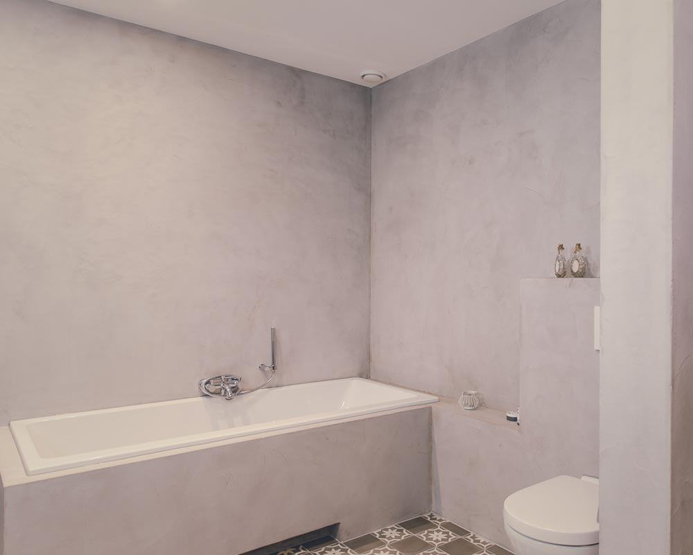 mikrocement på badeværelset