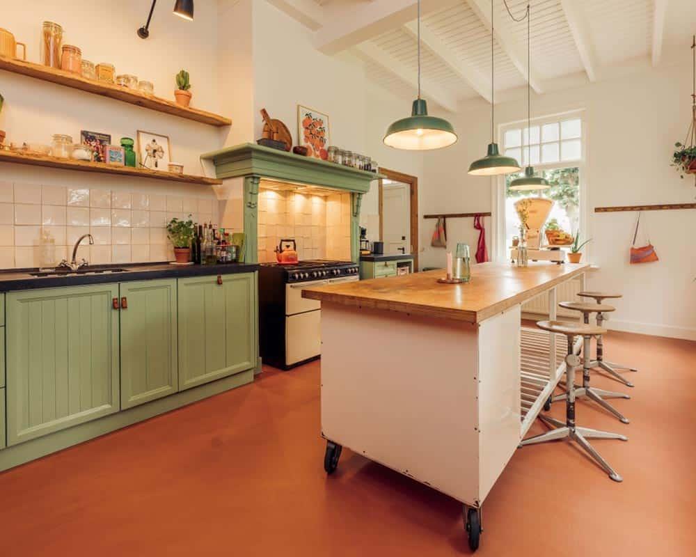 Microcement i køkkenet