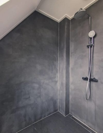 mikrocement badeværelset