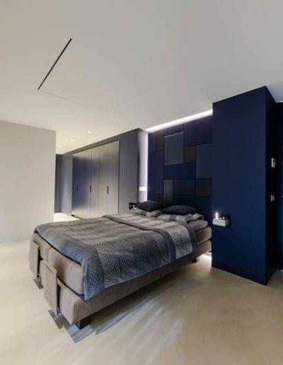 Betongulv til soveværelset