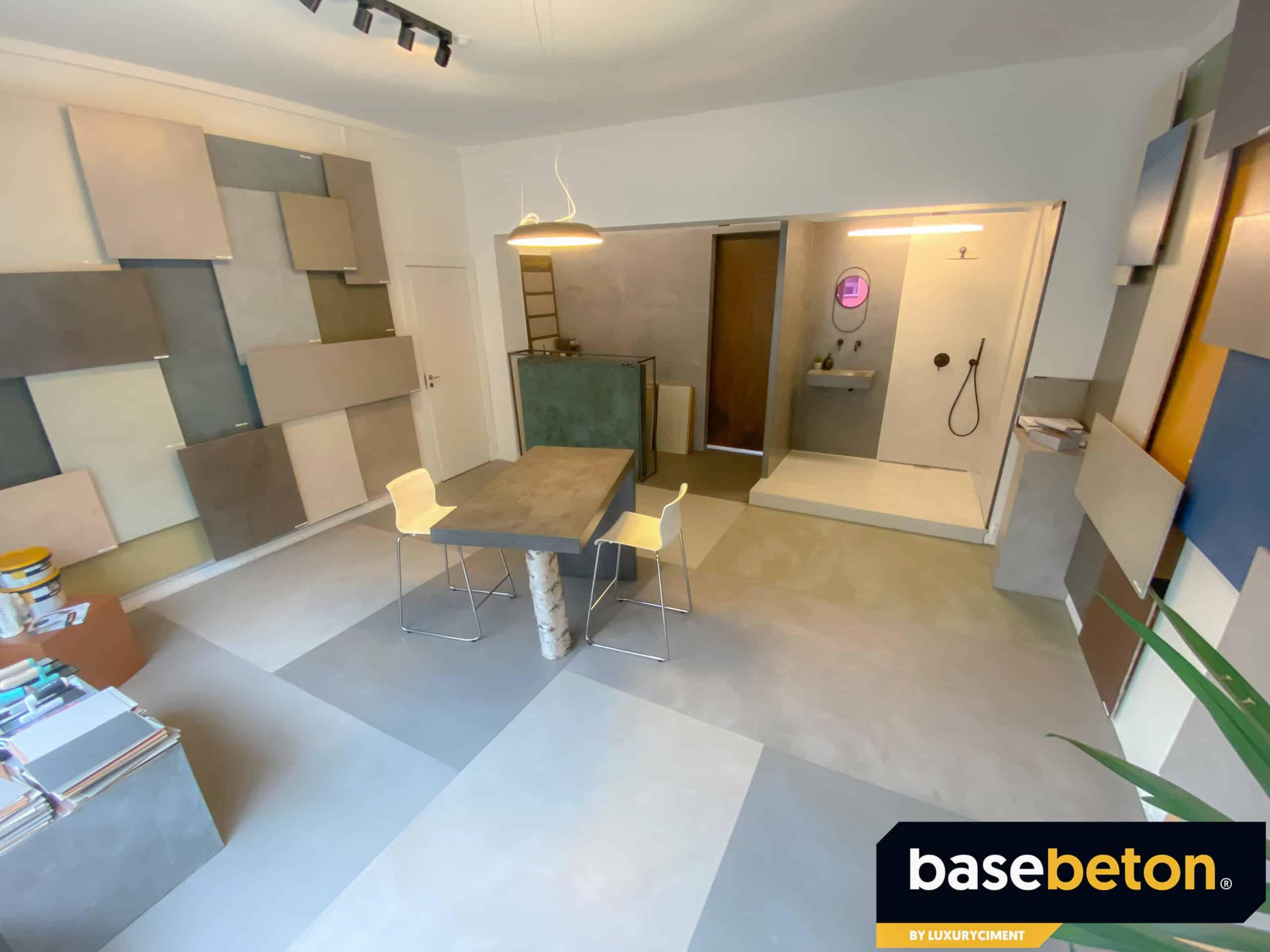 basebeton showroom